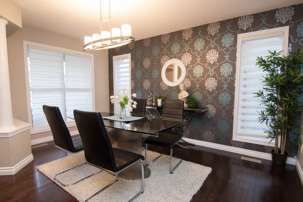 Beautifully Staged Dining Room